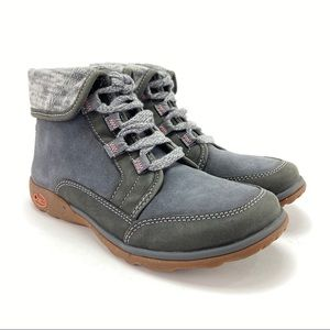 Chaco Women's Barbary Castlerock Gray Ankle Boots
